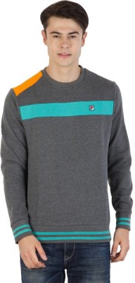 Fila Full Sleeve Striped Men's Sweatshirt