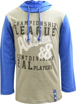 Blueriver Full Sleeve Graphic Print Boy's Sweatshirt