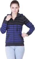 Wake Up Competition Full Sleeve Striped Women's Sweatshirt