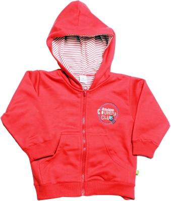 Babiano Full Sleeve Solid Boy's Sweatshirt