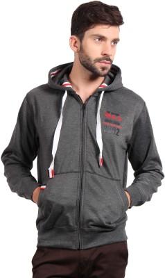 Fitz Full Sleeve Solid Men's Sweatshirt
