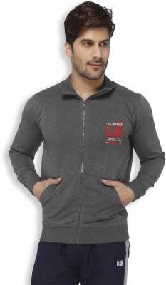 Live In Full Sleeve Solid Men's Sweatshirt