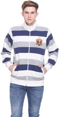 EX10SIVE Full Sleeve Striped Men's Sweatshirt