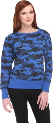 CLUB YORK Full Sleeve Printed Women,s Sweatshirt