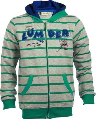 Lumber Boy Full Sleeve Self Design Boy's Sweatshirt