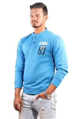 Showoff Full Sleeve Solid Men's Sweatshirt