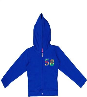 Sweet Angel Full Sleeve Self Design Boy's Sweatshirt