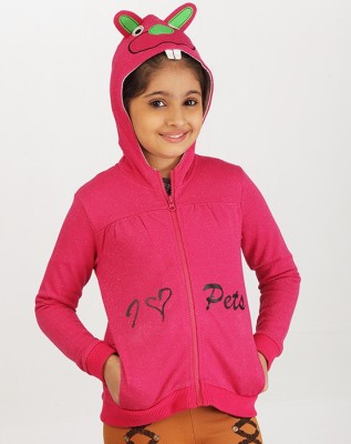 Ventra Full Sleeve Embroidered Girl's Sweatshirt