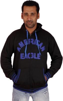 Krg Fashion Full Sleeve Embroidered Men's Sweatshirt