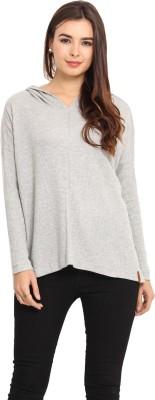 Camino Full Sleeve Solid Women's Sweatshirt