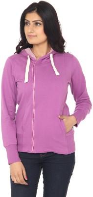 Ruse Full Sleeve Solid Women's Sweatshirt