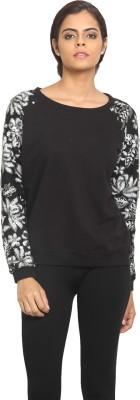 Label VR Full Sleeve Solid Women's Sweatshirt