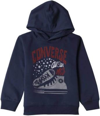 Converse Full Sleeve Printed Boy,s Sweatshirt