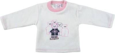 Tillu Pillu Full Sleeve Solid Baby Girl's Sweatshirt