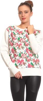 CLUB YORK Full Sleeve Floral Print Women,s Sweatshirt