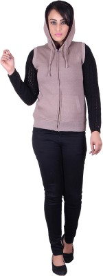 Melzo Half Sleeve Solid Women's Sweatshirt