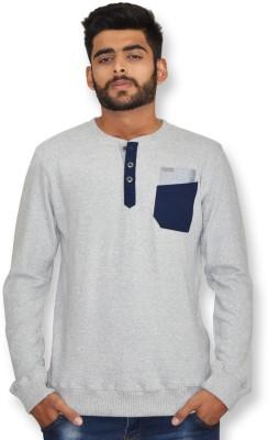 Riot Jeans Full Sleeve Solid Men's Sweatshirt