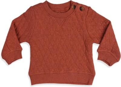 Mothercare Full Sleeve Checkered Baby Boy's Sweatshirt