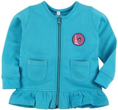 Oye Full Sleeve Solid Girl's Sweatshirt