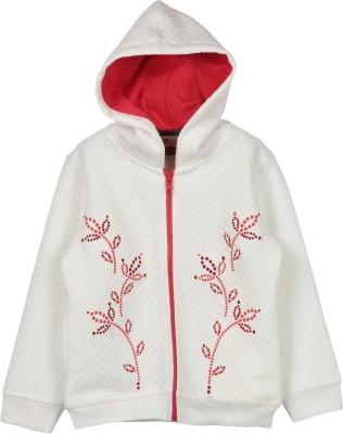 Beebay Full Sleeve Self Design Baby Girl's Sweatshirt