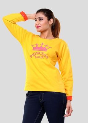 Clotone Full Sleeve Printed Women's Reversible Sweatshirt