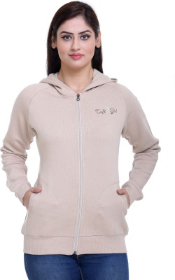 Trufit Full Sleeve Embroidered Women's Sweatshirt