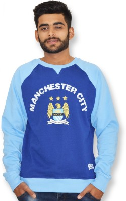 Manchester City FC Full Sleeve Printed Men,s Sweatshirt