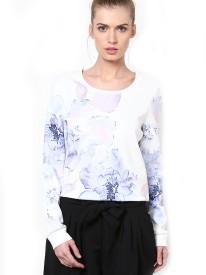 Vero Moda Full Sleeve Floral Print Women's Sweatshirt