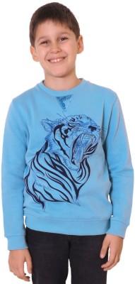 Aristot Full Sleeve Animal Print Boy's Sweatshirt