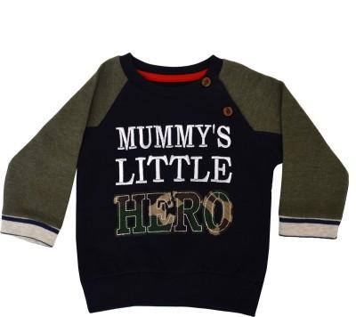 Pepito Full Sleeve Embroidered Baby Boy's Sweatshirt