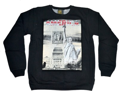 POTATO Full Sleeve Printed Men's Sweatshirt