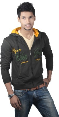 Spur Full Sleeve Embroidered Men's Sweatshirt