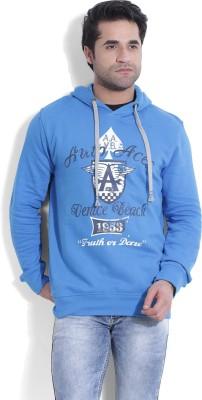 John Players Full Sleeve Printed Men's Sweatshirt