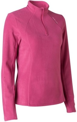 Quechua Full Sleeve Solid Women's Sweatshirt