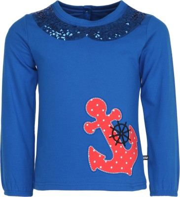 Bells and Whistles Full Sleeve Printed Girl's Sweatshirt