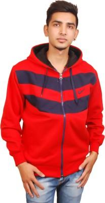 Ganpati Textiles Full Sleeve Striped Men,s Sweatshirt