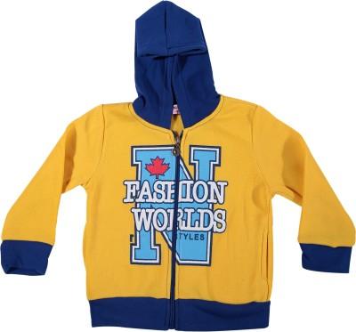 Zonko Style Full Sleeve Printed Baby Boy's Sweatshirt