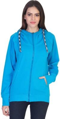 HoG Full Sleeve Solid Women's Sweatshirt