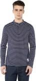 Atorse Full Sleeve Striped Men's Sweatsh...