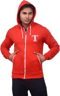 TeesTadka Full Sleeve Solid Men's Sweatshirt