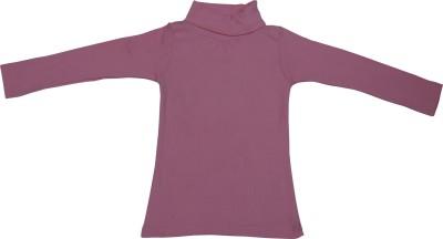 RUMAAZ Full Sleeve Solid Girl's Sweatshirt