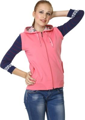 Miss Grace Sleeveless Solid Women's Sweatshirt