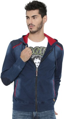 Kook N Keech Full Sleeve Self Design Mens Sweatshirt