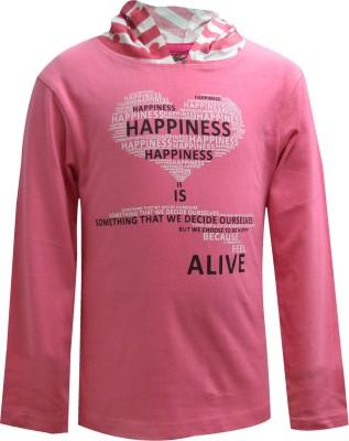 Blueriver Full Sleeve Graphic Print Girl's Sweatshirt