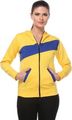 TeeMoods Full Sleeve Striped Women's Sweatshirt