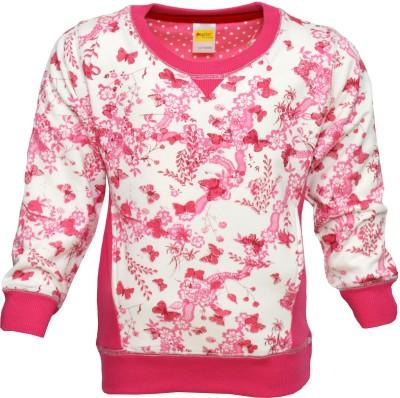 Pepito Full Sleeve Printed Girl's Sweatshirt