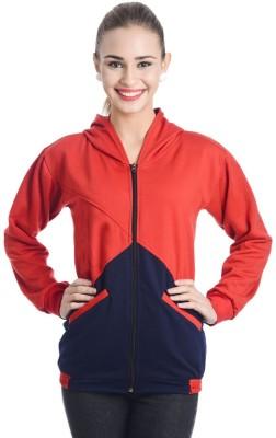 TeeMoods Full Sleeve Solid Women's Sweatshirt