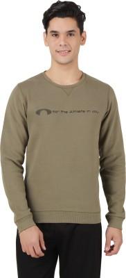 Arcley Full Sleeve Solid Men's Sweatshirt