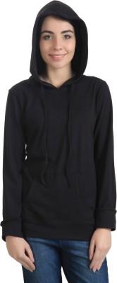 Rute Full Sleeve Solid Girl's Sweatshirt