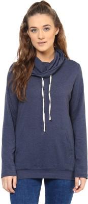 Purys Full Sleeve Solid Women's Sweatshirt at flipkart